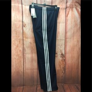 🆕 adidas navy  stripe pocketed straight pants